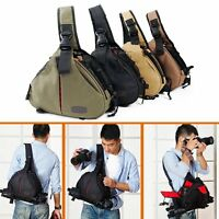 For Canon Nikon Sony Camera Backpack Sling Shoulder Bag Case Shockproof DSLR SLR