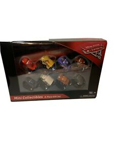 Disney Pixar Cars 3 Mini Vehicles 8-Piece Gift Set Lightning McQueen Mater