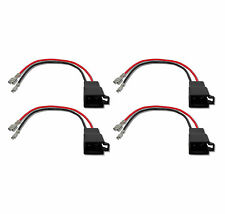 4x altavoces adaptador cable AUDI SEAT SKODA VW Opel Renault suzuki Volvo