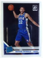 2019-20 Panini Donruss Optic Rated Rookie Matisse Thybulle Rookie RC #192