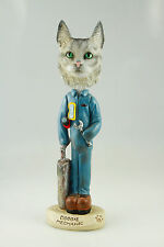 Mechanic Maine Coon Silver Cat- See Interchangeable Breeds & Bodies @ Ebay Store