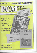 Paper Collector's Marketplace Magazine—September, 1991