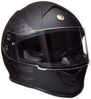 Torc T14B Flag Bluetooth Helmet Flat Black Blinc Full Face DOT XS-2XL