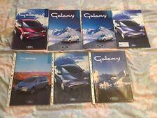 Ford Galaxy Sales Brochure mk1  ghia x,aspen,si,zetec,gls etc FMOC Ford CLub GB