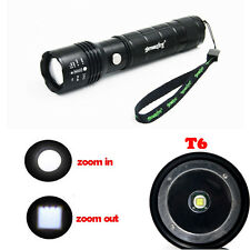 20000LM XM-L T6 Adjustable USB Rechargeable LED Flashlight Torch Hunting Lamp