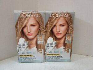 2 L'OREAL FERIA MULTI-FACETED SHIMMER HIGHLIGHTING KIT C100 MM 19906