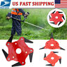 3/4/5/6 Tooth Blades Razors Lawn Mower Weed Eater Trimmer Head Brush Cutter Tool