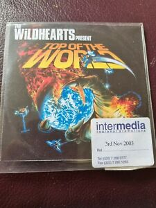 The Wildhearts - Top of The World (2003) 1 Track PROMO CD