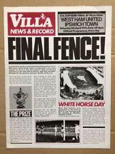 West Ham United V Ipswich Town FA Cup Semi Final 1975