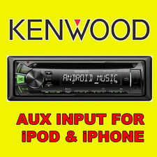 Voiture KENWOOD cd usb radio stéréo tuner head unit player iPOD/iPHONE aux input