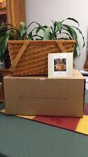 David Longaberger Tribute Founder's Market Basket 2000 Brand New In Box Document