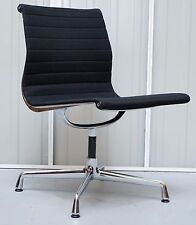 ORIGINAL RRP £1295 EA101 VITRA EAMES BLACK HOPSAK OFFICE CONFERENCE CHAIR