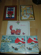 5 New  Happy Holiday & the New Year Greeting Cards