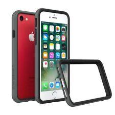 iPhone 8/7 Bumper Case RhinoShield [11 Ft Drop Tested] ShockProof Tech-Dark Grey