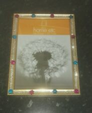 Gold bling picture frame A4 size