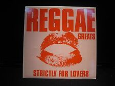 Reggae Greats Strictly For Lovers w/ Inner Sleeve ISL 9788 -RECORD