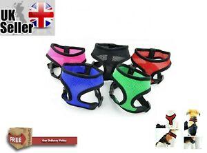 Dog Puppy Harness Soft Adjustable Comfortable Walking Strap Vest Soft Chest Vest