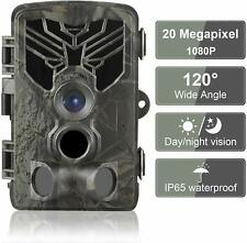 Trail Camera 20MP 1080P Waterproof Game Hunting Scouting Camera for Wildlife
