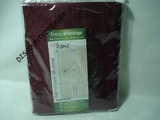 JCP HOME SUPREME THERMAL BACK TAB PANEL CRANBERRY 95