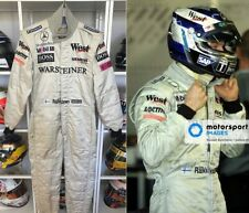 Race used suit 2002 Kimi Raikkonen West McLaren Mercedes F1