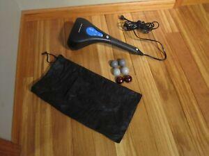 Sharper Image Handheld Percussion Massager w/ Heat Programmable Model HF 757 T26