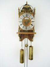 Warmink WUBA Dutch Lantern Wall Clock Antique Vintage (Zaanse Hermle Era)