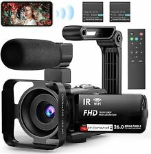 Video Camera Camcorder WiFi YouTube Camera Vlogging Camera 3