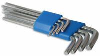 Laser Tools 4180 Stella / Set Chiavi Esagonali - 8pc Silicone Acciaio