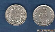Suisse - 1 Franc 1960 en Argent - Switzerland