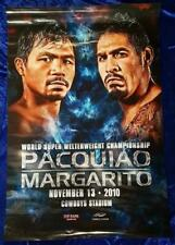 Manny PACQUIAO vs Antonio MARGARITO 2010 Boxing 36x24 Official Onsite Poster