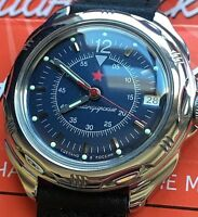 VOSTOK KOMANDIRSKIE RUSSIAN MILITARY WATCH #211398