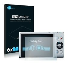 6x Savvies Screen Protector for Canon IXUS 275 HS Ultra Clear