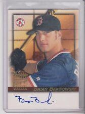 2001 Bowman Brian Barnowski Autograph Boston Red Sox BA-BB