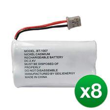 Replacement Battery For Uniden DECT1580-2 Cordless Phones - BT1007 600mAh 8Pack