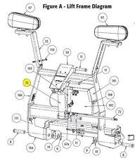 SnowDogg Part # 16154200 - HD, EX, VX, CM Plow Lift Cylinder 2x6