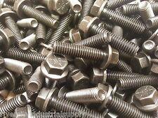 (100) 1/4-20x1-1/4 Grade 8 Hex Head Flange / Frame bolt / Cap Screws 1/4 x 1-1/4