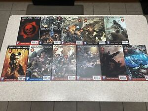 GEARS OF WAR 1 2 3 6 7 8 9  10 11 12 13 Lot of 11 Wildstorm VF NM First Prints!