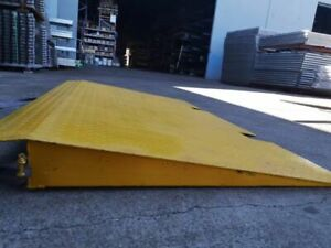 Steel container ramp 2.2m * 1.26m*5mm thick, $545/each