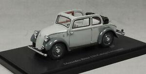 Autocult Mercedes-Benz 130 Cabrio-Limousine in Grey 1935 03010 1/43NEW LtdEd 333