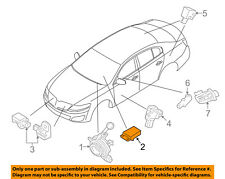 Lincoln FORD OEM Airbag Air Bag-RCM SDM ACM Restraint Control Module 9A5Z14B321A