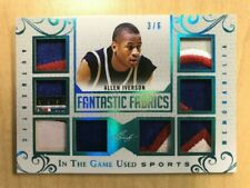Allen Iverson 8X Patch 2018 Leaf In The Games Used Sports Fantastic Fabrics