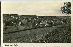 Foto-AK EMSKIRCHEN /Mfr. Kr. Neustadt /Aisch Totale 50er Ja.