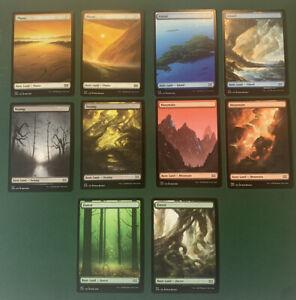 Full Art Land - Complete Set - Double Masters VIP - Magic the Gathering MTG - NM