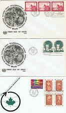 ONU - 3 enveloppes