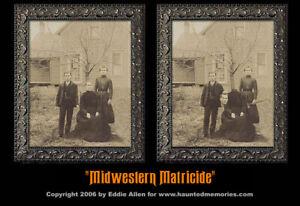 Midwest Matricide 8x10 Haunted Memories Changing Portrait Halloween Lenticular