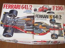 TAMIYA 1/12 FERRARI 641/2 F190 Model Kit and CLOSE UP & HISTORY Guide Book