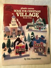Plastic Canvas Home for Christmas Village Book One Don FranzMeier Crafts Holiday