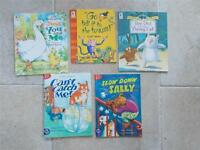 5 Childrens Story Books 3x Walker Owl & Pussycat &2 Little Readers