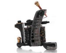 Damascus Series EXECUTIONER (SHADER) 10-Wrap Short Coil Tattoo Machine Supply