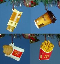 Decoration Ornament Christmas McDonald's Snack Pie Chips Cafe Hash Set *M910123